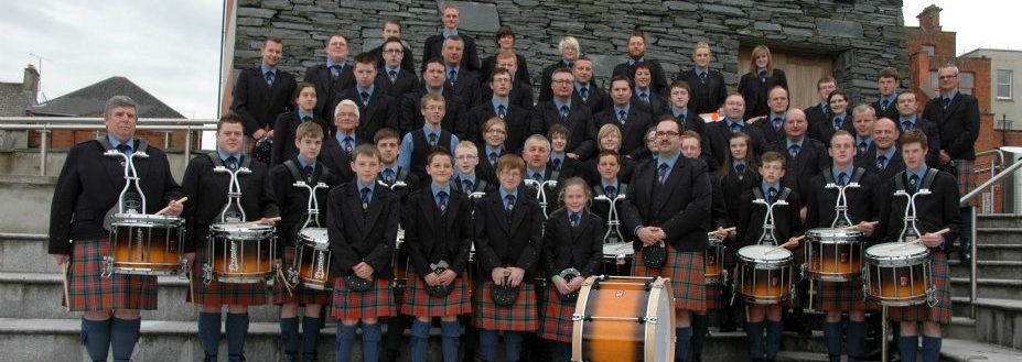Cullybackey Pipe Band choose Premier