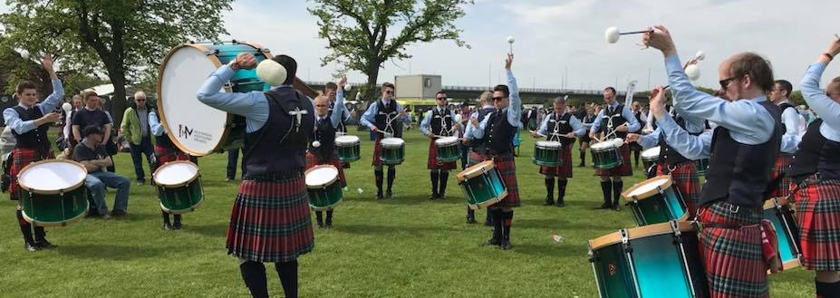 Field Marshal Montgomery drum corps take first at European Championships