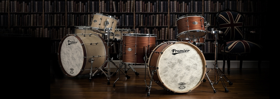 Premier launches British-made Modern Classic drum set