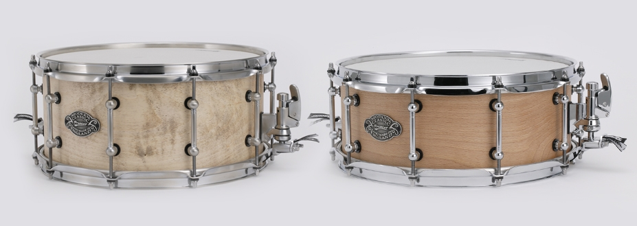 Premier introduces limited edition steam-bent Modern Classic snare drums