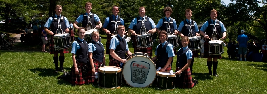 Peel Regional Police Pipe Band choose Premier