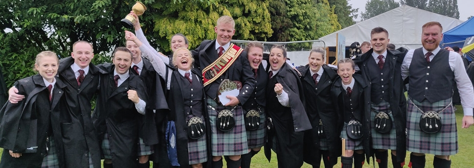 Scottish Power: 2019 Scottish Drum Corps Champions