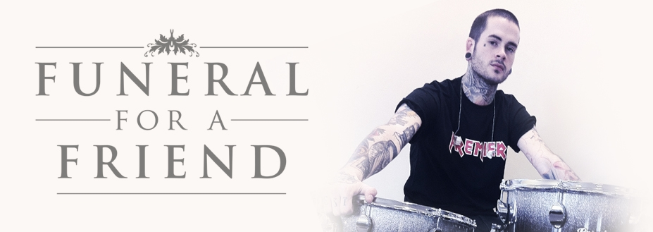 Funeral for a Friend announce new drummer