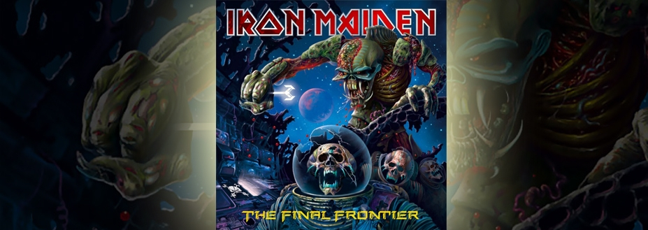 Iron Maiden's The Final Frontier debuts at number one