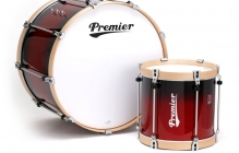 Tenor and Bass Drums - Professional-Series-Tenor-and-Bass-Drums-in-Ruby-Sparkle-Fade-Lacquer-(RXBF)